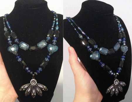 Night Bloom Necklace by LunarBerry