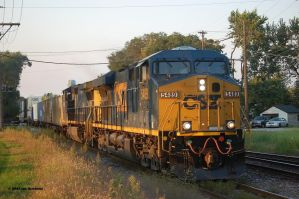 csx 5489 by JDAWG9806