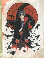 Itachi Genjutsu (from Naruto) by Lena1406