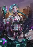 Jinx - The loose cannon by MonoriRogue