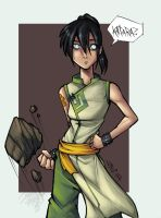 :: Toph worried color qcky :: by IvyBeth