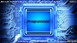 Programmed (Blue Version)- Hebrews 10:16 by SympleArts