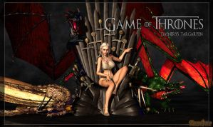 Game of Thrones: Daenerys Targaryen by MongoBongoArt