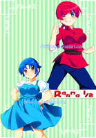 Ranma 1/2 by Rainbowshi