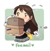 Fanmail! by Zombiesmile