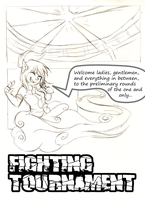 Fighting Tournament Audition Pg1 by FuyusFox