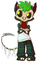 Griever Chibi Comm by BakaMichi