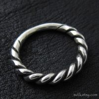 Silver Slavic ring by Sulislaw