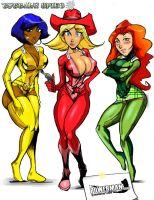 totally spies by powerman2000