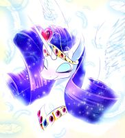 Princess Rarity by PhoenixPeregrine