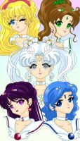 Cosmos and her Guardians by Sailor-Serenity