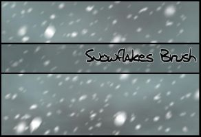 Snowflakes Brush by Faeth-design