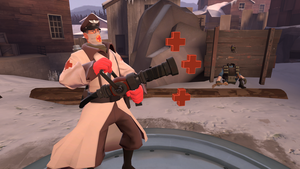 SFM Poster: Capt. Mudkip's Medic by Kyo-comics