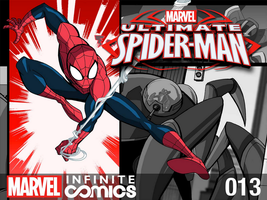 Marvel Infinite Comics: Ultimate Spider-Man 13 by LucianoVecchio