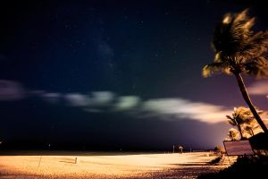 Night over Cancun III by Bl4ck-and-wh1te