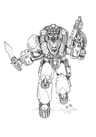 Moar Space Marines by orcbruto