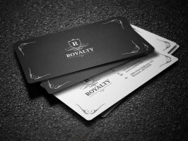 2 in 1 Black and White Business Card 58 by nazdrag