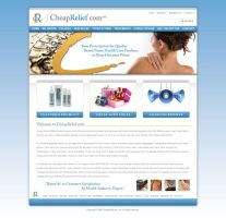 Cheap Relief_Website by omni6us