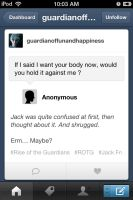 The question I asked Jack on Tumblr XD by WinterMoon95