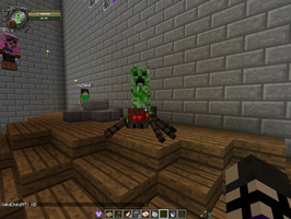 A Creeper Jockey?! by GhostMaster12345