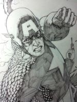 Steve Rogers : Avenger by Ace-Continuado