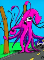 Attack of the Land-Squid by Horace-Bulregard