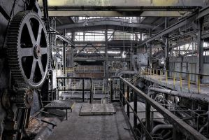 Another black factory by ZerberuZ