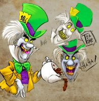 Mad Hatter ghost concept by LaRhsReBirTh