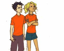 Adorable Percabeth. by fernandafb