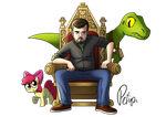 Tumblr Throne by petirep