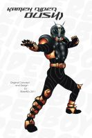 Kamen Rider Oushi 2011 by RiderB0y