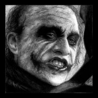 The Joker - Charcoal Portrait by jayaram1989