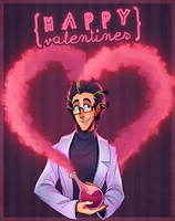 Happy ValenBirthTines Day by Chikuto
