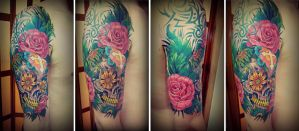 Sugar Skull - Final Session by Kristof-clg