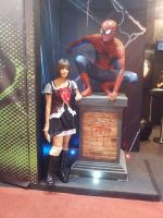 Comic Con Experience 2014 - Spiderman by aprict