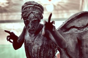 amazing  weeping angel by NatalieCartman