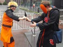 Naruto and toby mcm 2014 by IamNasher