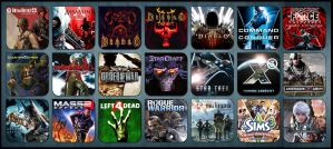 Game Aicon Pack 24 by HarryBana