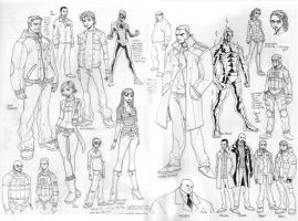 CHARACTER SKETCHES SPIDEY 184 by deemonproductions