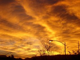 Cloudy Sunset 03 by Zeds-Stock