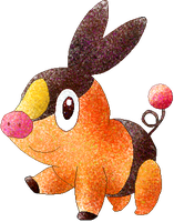 Tepig by Sulfura