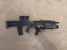 Star L85A2 With AG80 Airsoft by Luckymarine577