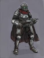 Futuristic Legionnaire by TheLivingShadow