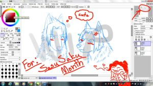 SasuSaku Month (WIP) by AWESOME-4-LIFE