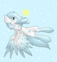 Sparkle Snowfall by QueenChoopie