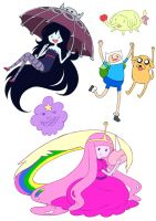 Adventure Time by Lyra-Kotto