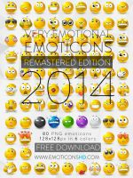 EmoticonsHDcom Remastered Emoticons by LazyCrazy