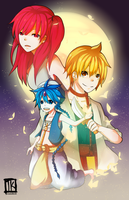Magi by BottleWonderland