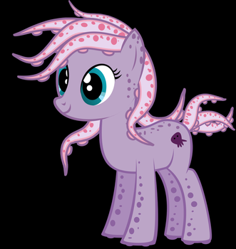 Tentacle Pony by BronyDanceParty