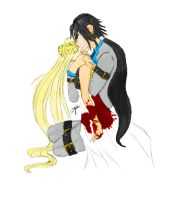 Let me die with her: Usagi/Seiya vers. 2 by InLoveWithYaoi